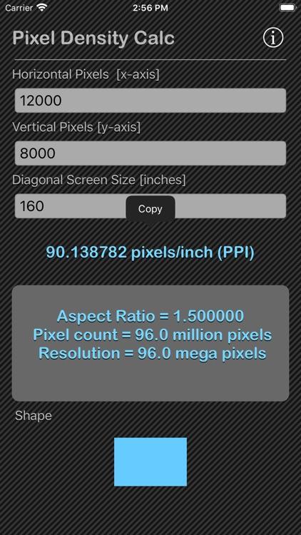 Pixel Density Calc screenshot-8