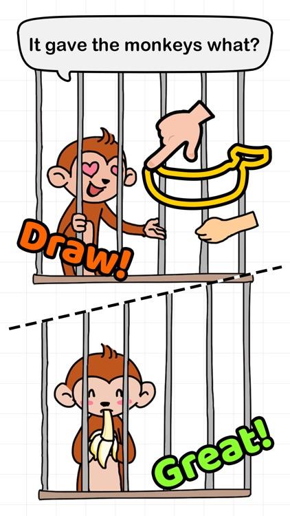 Brain Draw - Draw one part screenshot-3