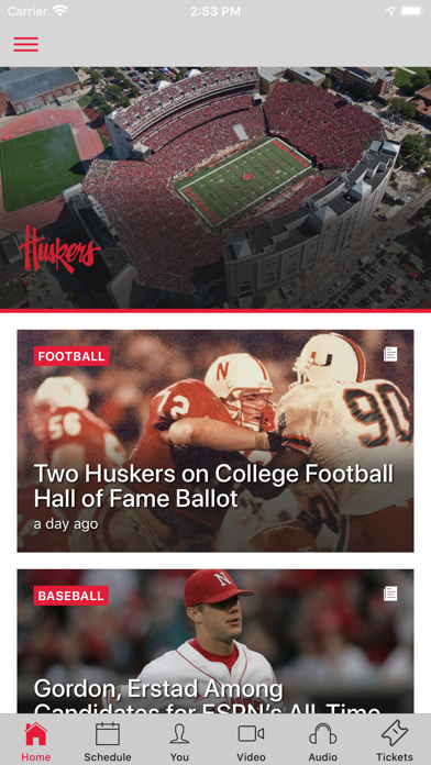 cancel Official Nebraska Huskers app subscription image 1
