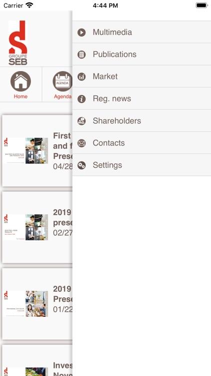Groupe SEB IR screenshot-4