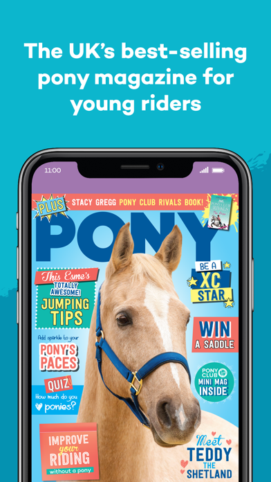 PONY Magazine screenshot one