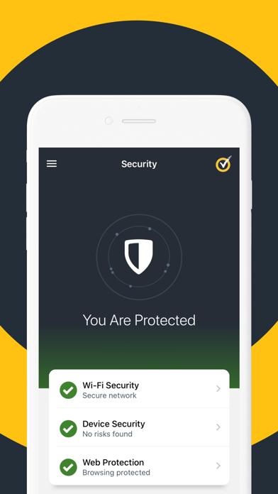 Norton Mobile Security Screenshot