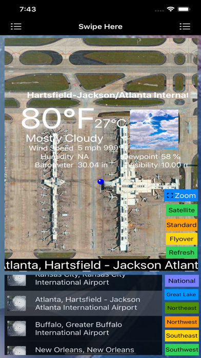 Instant Weather Stations Lite screenshot 9