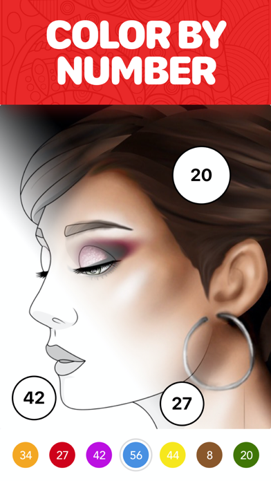 Screenshot #1 pour Color Therapy Coloriage Adulte