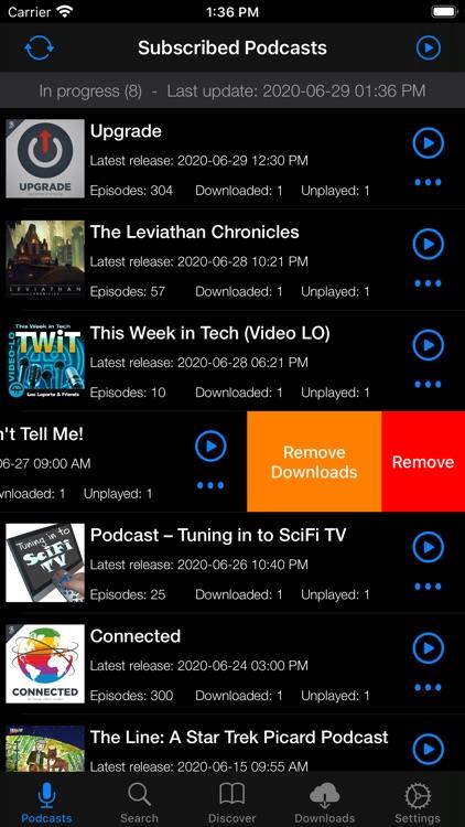 Primecast - A Podcast Player screenshot-5