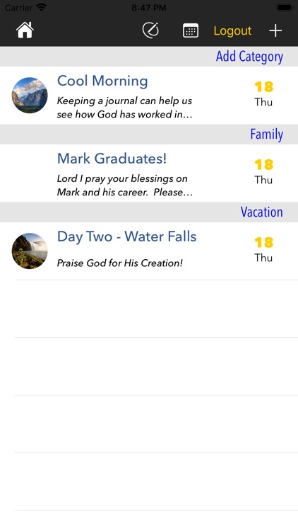 Prayer Journal App screenshot-4