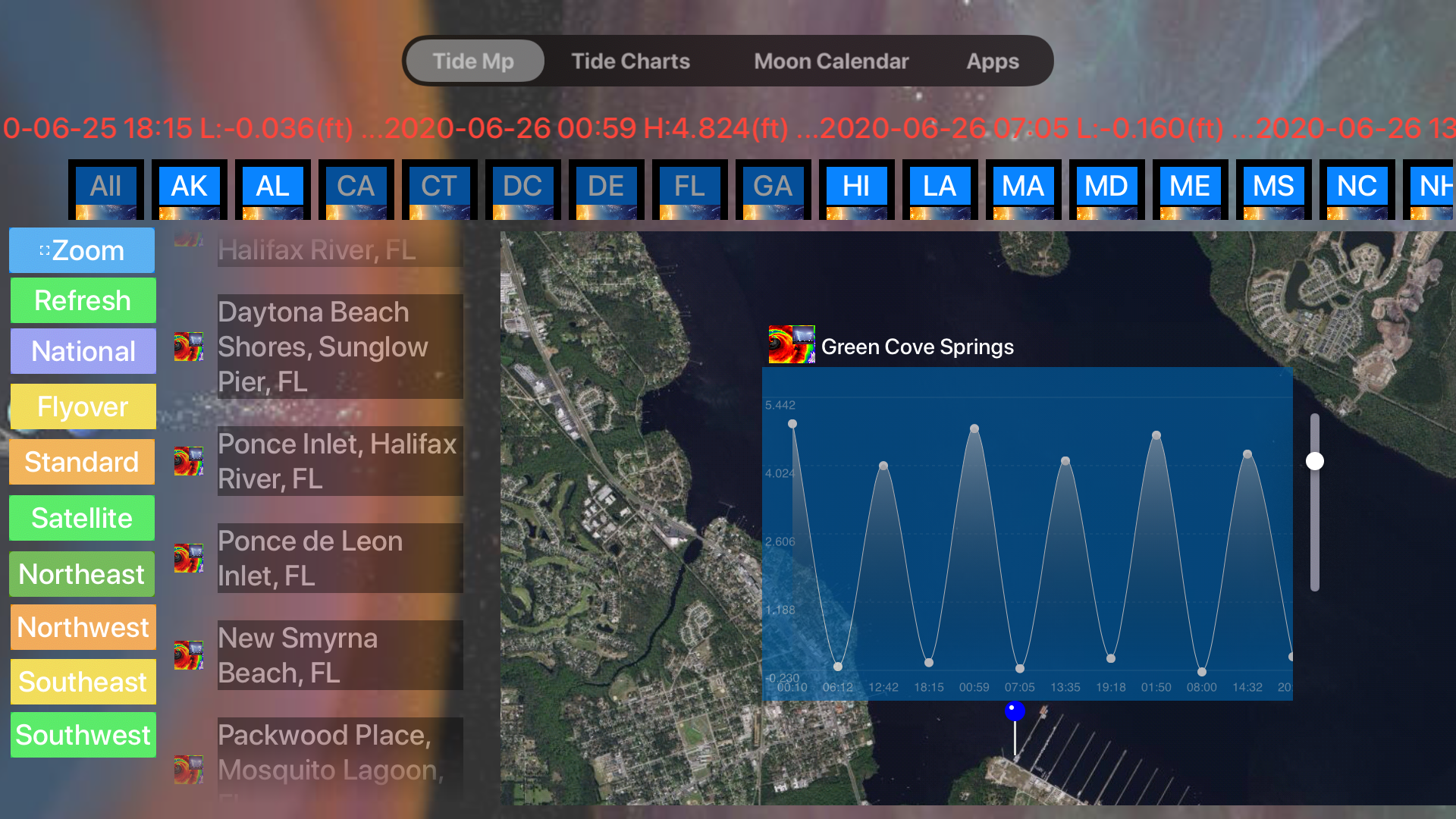 Instant NOAA Tide Lite screenshot 19
