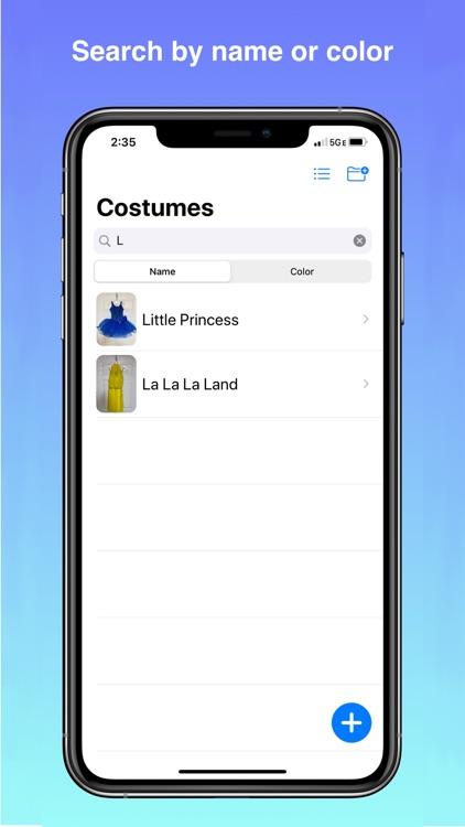 Costumize - Digital Inventory screenshot-3