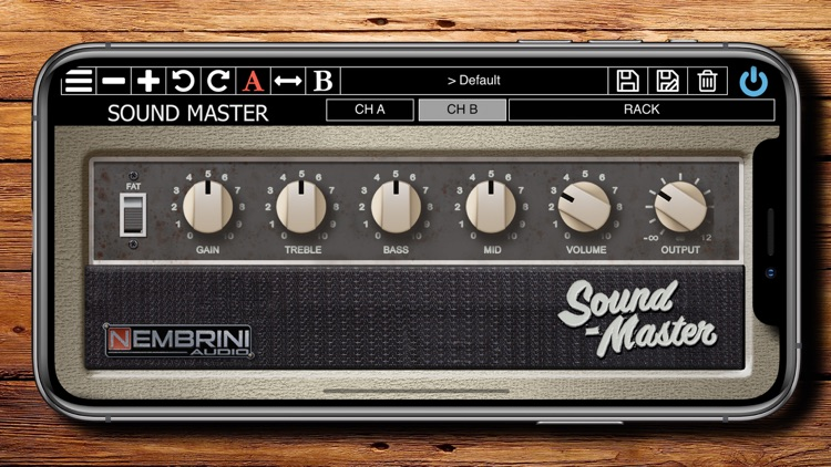 Sound Master Custom Tube