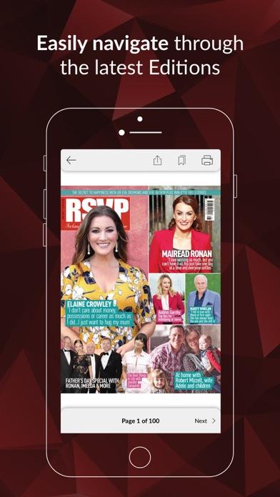 RSVP MagazineScreenshot of 3