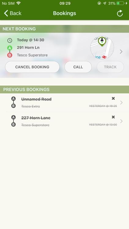Parkside Car Service - Minicab screenshot-4