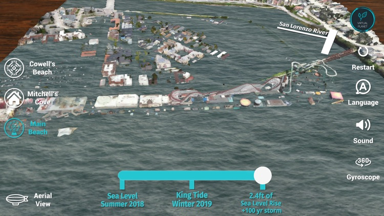 Sea Level Rise: Santa Cruz screenshot-7