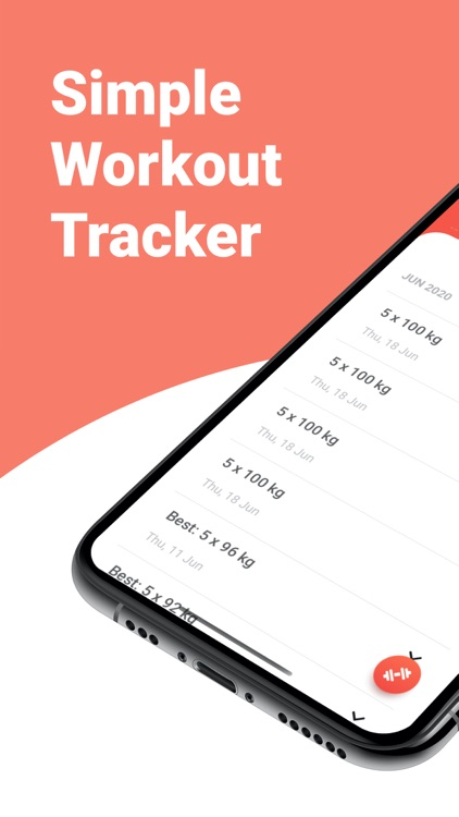 Strongify Easy Workout Tracker