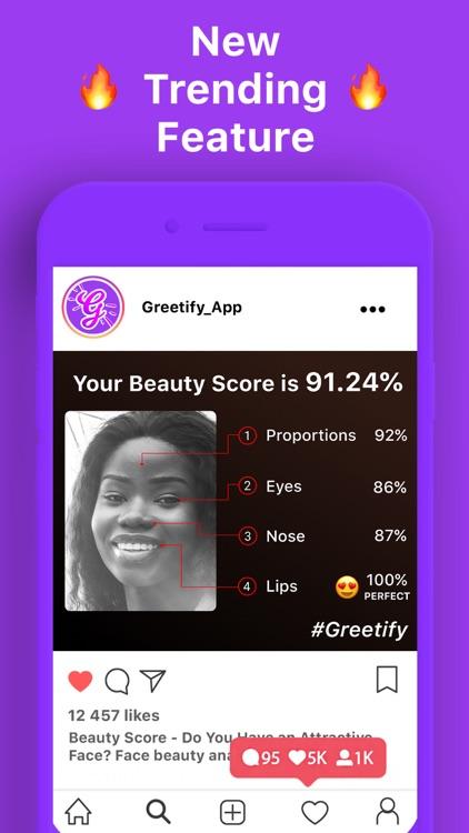 Greetify: Beauty Score