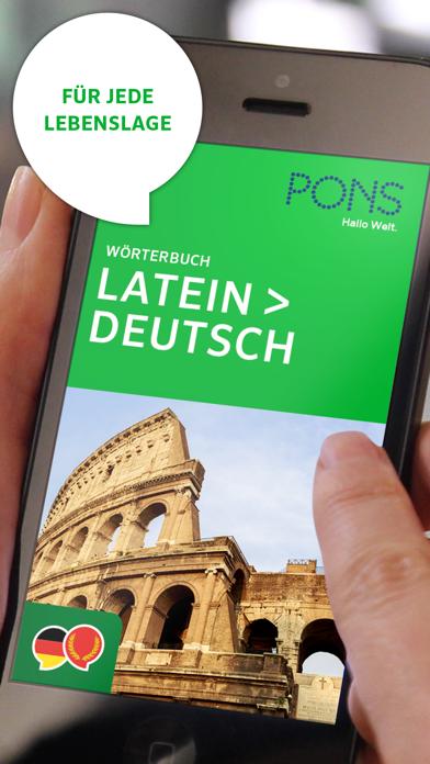 Wörterbuch Latein - Deutschのおすすめ画像1