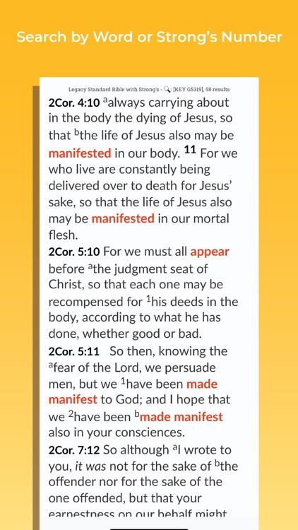 Legacy Standard Bible screenshot-3
