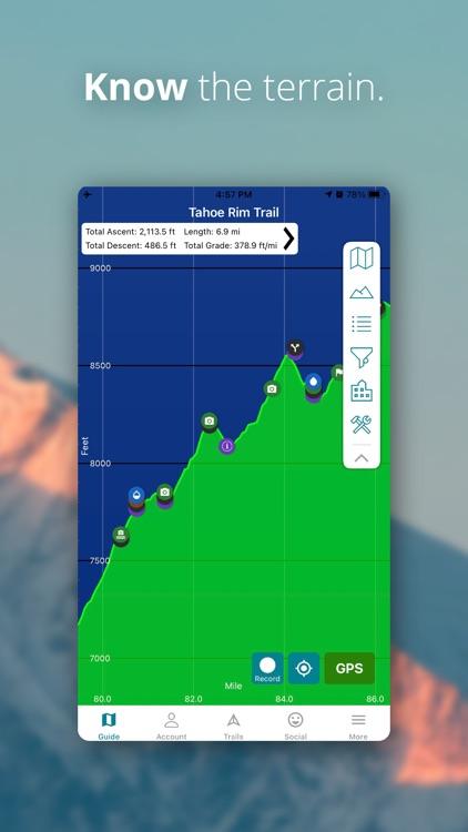Hiking - Guthook Guides screenshot-4
