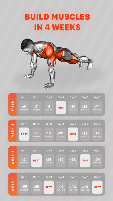 Workouts by Muscle Booster Screenshot