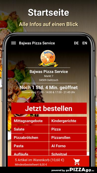 Bajwas Pizza Service Delitzsch screenshot 2
