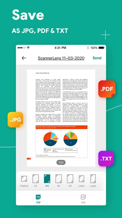 Document scanner: ScannerLens