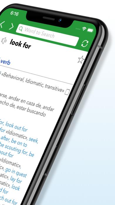 English Spanish Dictionary G.のおすすめ画像2