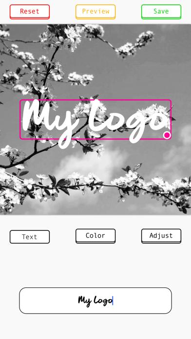 MyLogo: Photo Signature Maker screenshot 4