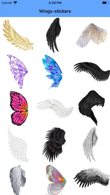 Wings-stickers