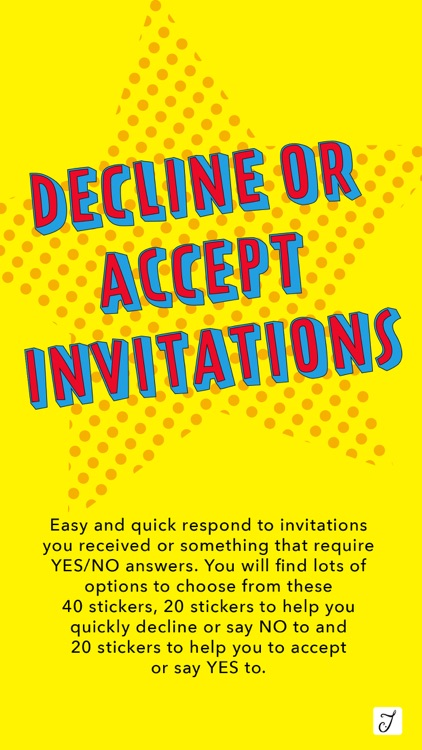 Decline or Accept Invitations