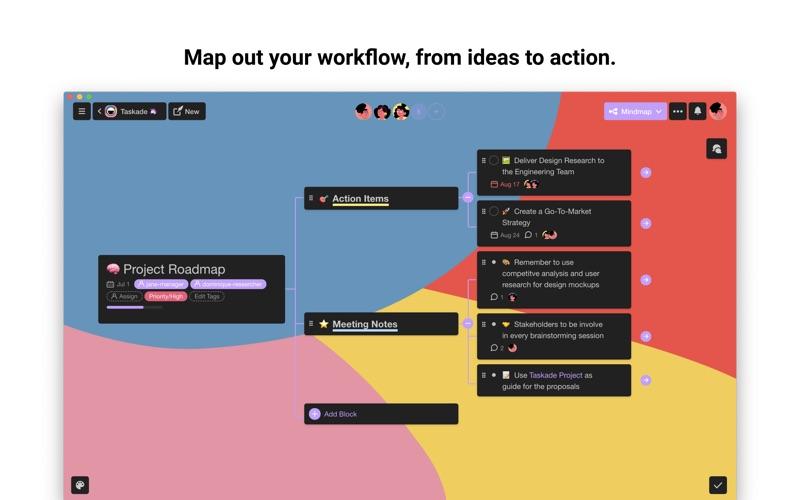 Taskade - Manage anything! скриншот программы 1