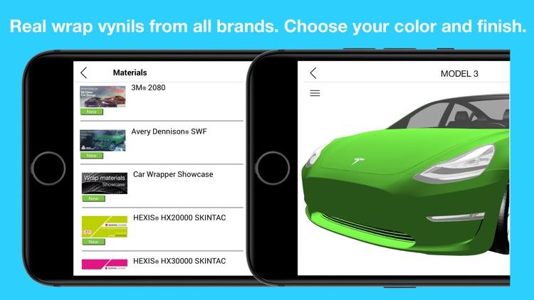 Wrap for Tesla 3D Color Change