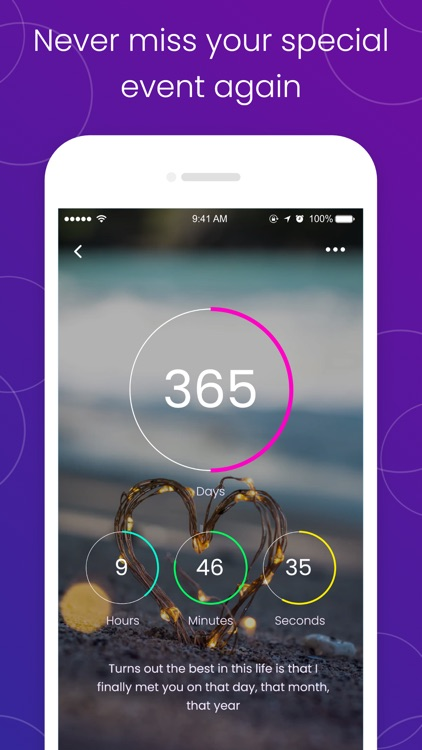 The Countdown: day counter app