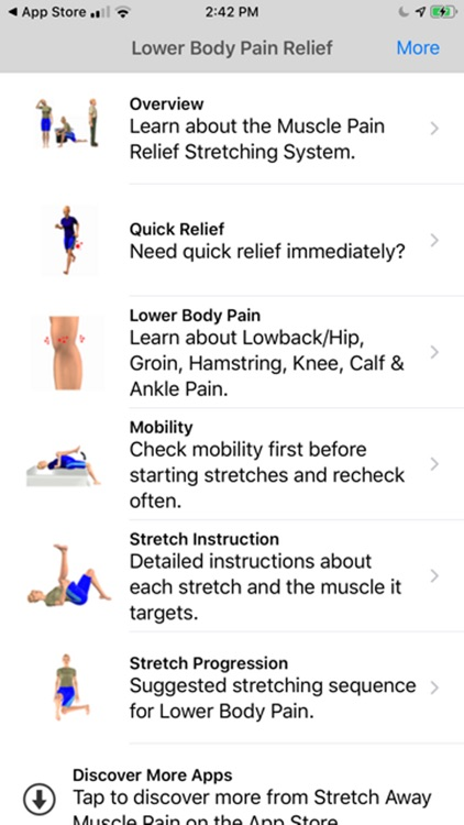 Stretch For Pain Relief Lower screenshot-0