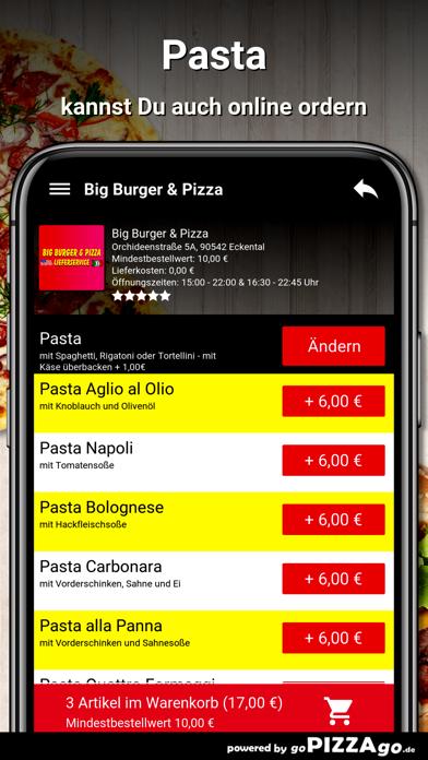Big Burger & Pizza Eckental screenshot 5