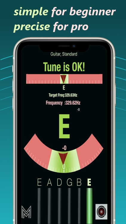 Smiley Tuner - Accurate tuning screenshot-0