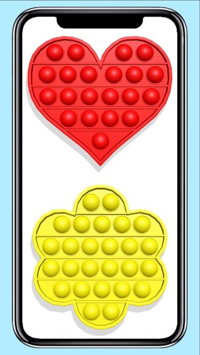 Pop it fidget toy calming Gameのおすすめ画像3