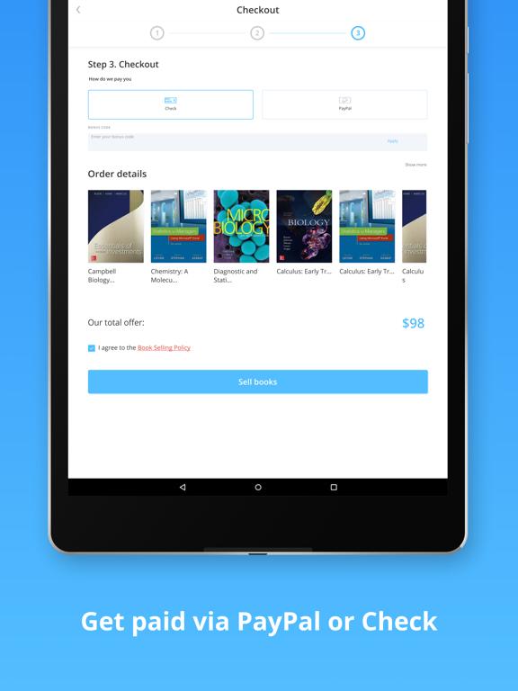 BooksRun - Sell books for cash screenshot