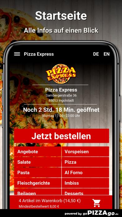Pizza Express Ingolstadt screenshot 2