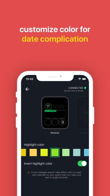 Just Calendar + Complications screenshot-6