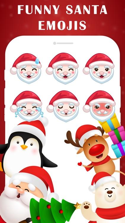 Santa Emojis