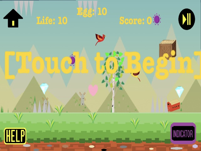 Birdy Outbreak, game for IOS