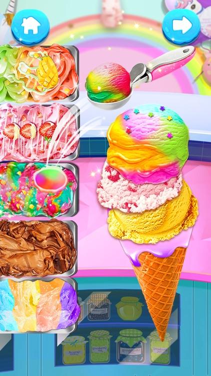 Ice Cream: Unicorn Girl Games screenshot-0