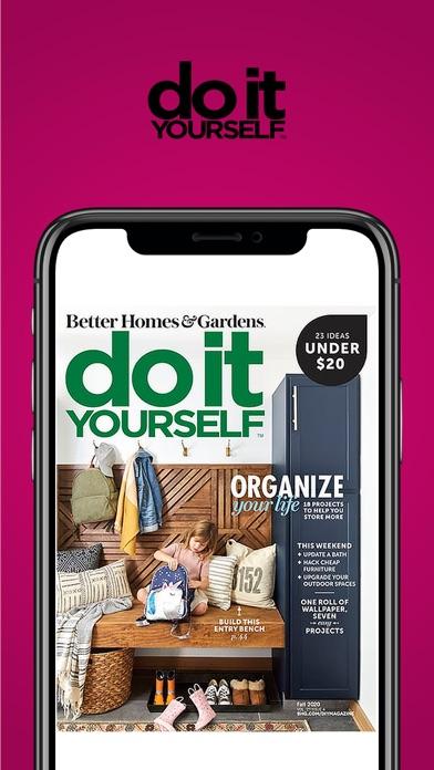 Do It Yourself Magazine Screenshot