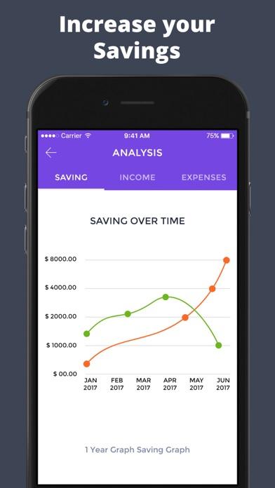 Budget Finance Tracker - 毎日の予算のスクリーンショット3