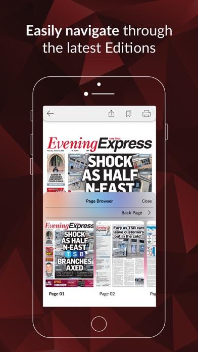 Evening Express ePaperScreenshot of 2