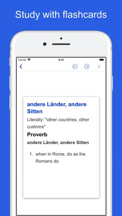 German Idioms, Proverbs screenshot 10