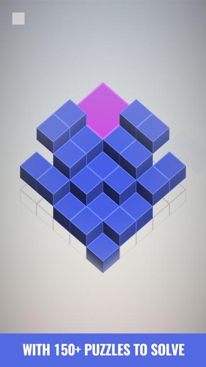 Isometric Squares - puzzle ² screenshot-6