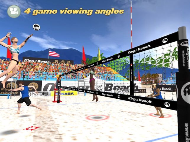 ‎KOB Beach Volley Screenshot