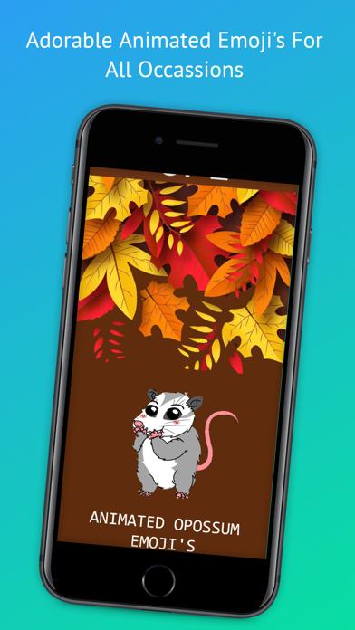 Mitzi Opossum Emoji's Screenshot