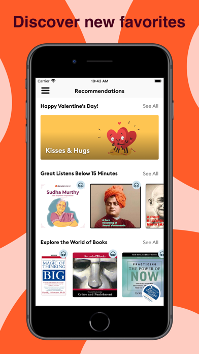 Storytel: Audiobooks & Ebooks Screenshot