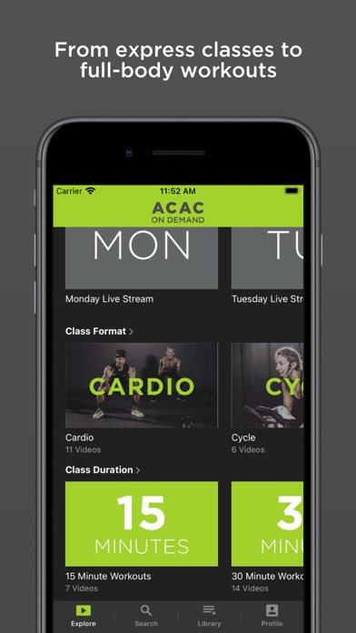 ACAC On Demand screenshot 3